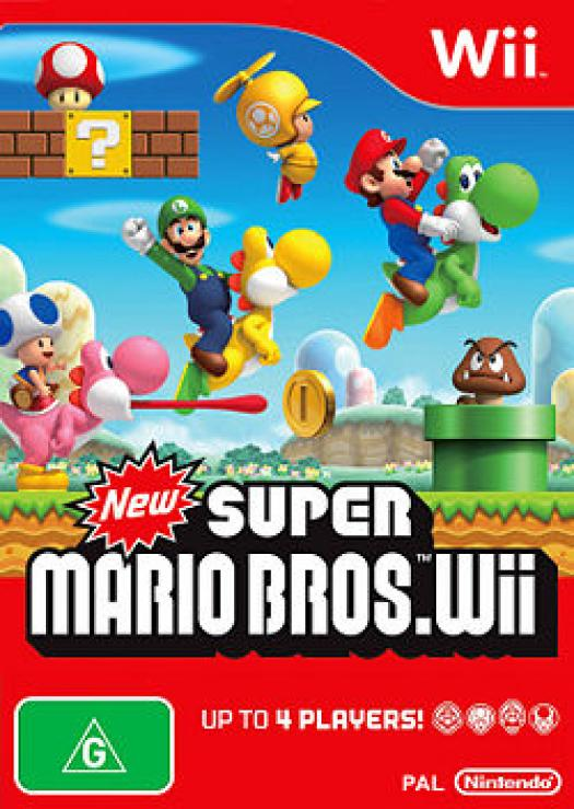 New Super Mario Bros. Wii Quiz (World 1)