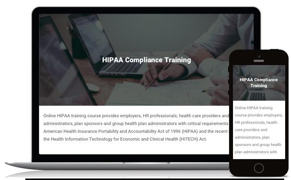 HIPAA Compliance Training Course