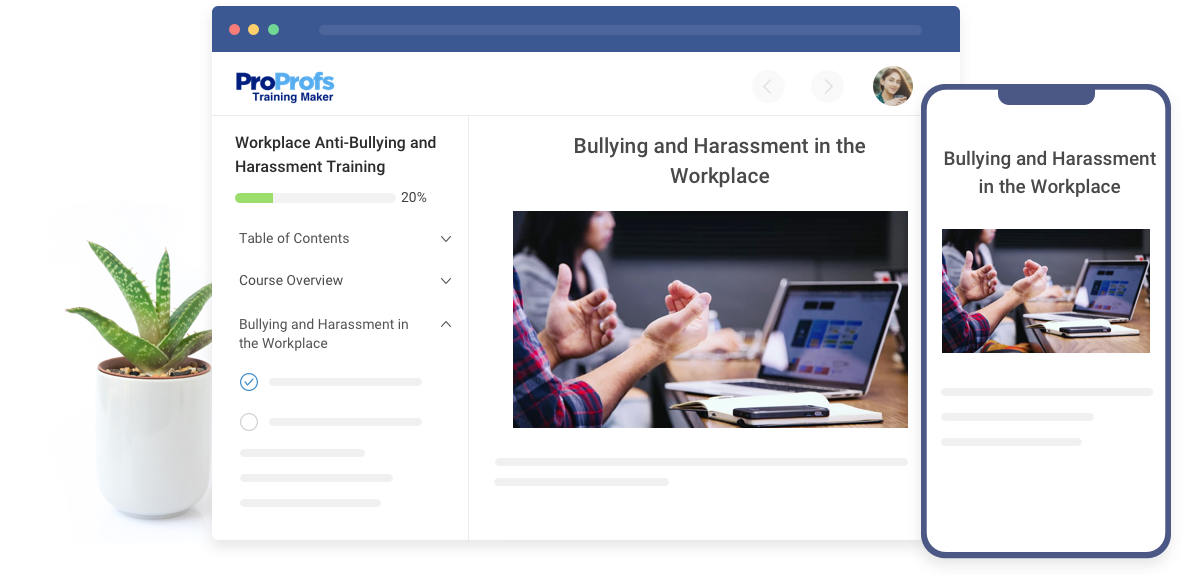 Workplace Anti-Bullying & Harassment Training
