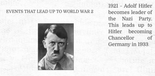 Hitler Becomes Chancellor Trivia Quiz