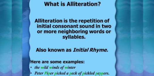 Can You Pass This Alliteration Test?
