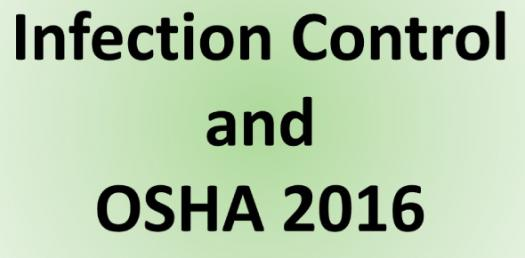 OSHA Infection Control Test
