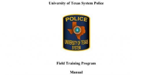 Field Training Manual Quiz-ch. 2 & 3
