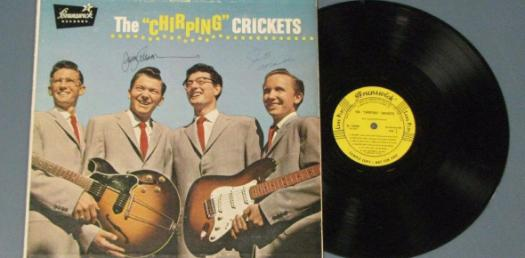 The Chirping Crickets Album