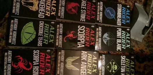 Alex Rider- Snakehead, Scorpia, Ark Angel, Eagle Strike