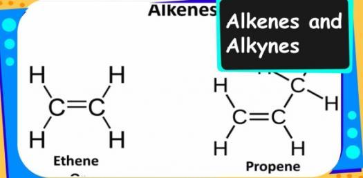 Alkanes Vs. Alkenes