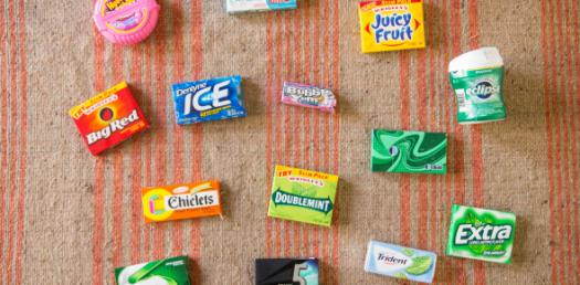 Which Chewing Gum Flavor You Like The Most?