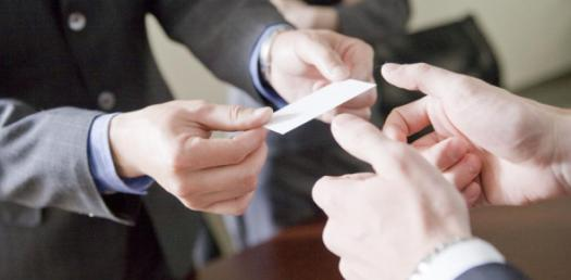 Chinese Business Card Exchange And Etiquette! Trivia Facts Quiz