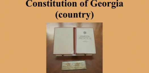 A Trivia Quiz On Constitution Of Georgia!