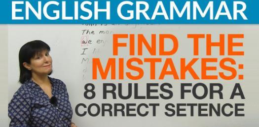 English Grammar Quiz: Could You Identify Correct Sentences?