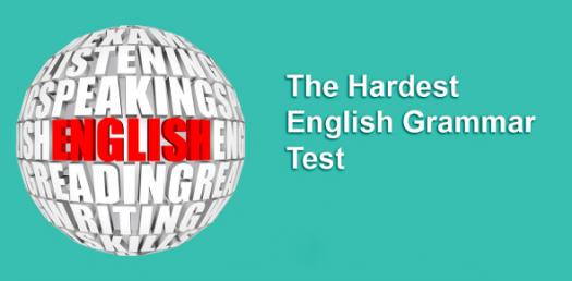 Only A Genius Can Pass This Hardest English Grammar Test! Quiz