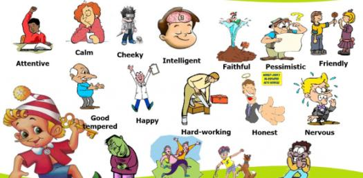 English Grammar Quiz: Personality Adjective