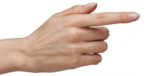Are You The Index Finger?