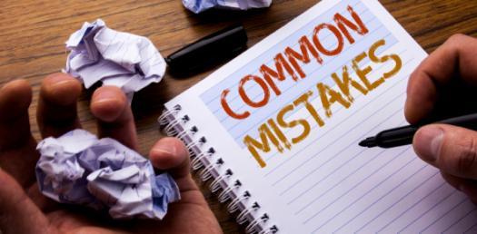 Can You Identify The Common Mistakes?