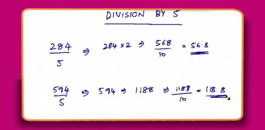 Divide By 5 : Division Practice Test! Trivia Quiz