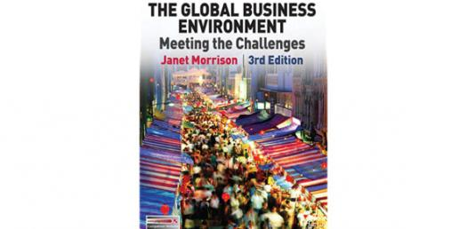 The Global Business Environment Book By Janet Morrison! Trivia Quiz