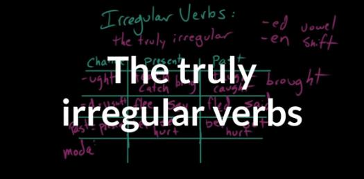 Past Tense Of Irregular Verbs Quiz!