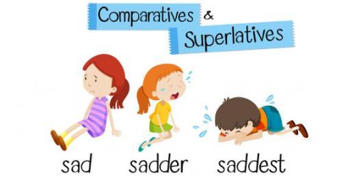 Adjectives: Comparative And Superlative! Grammar Trivia Quiz