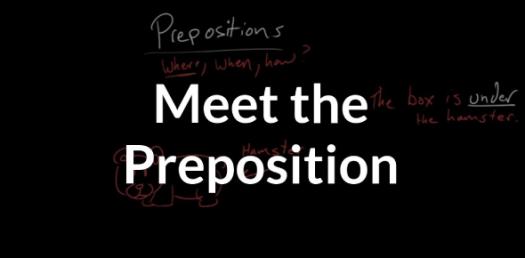 Grammar: Take This Preposition Quiz