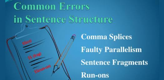 Grammar Trivia Quiz: Common Errors In Sentence Structure!