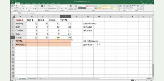 Trivia Questions: Microsoft Excel Spreadsheet Basics!