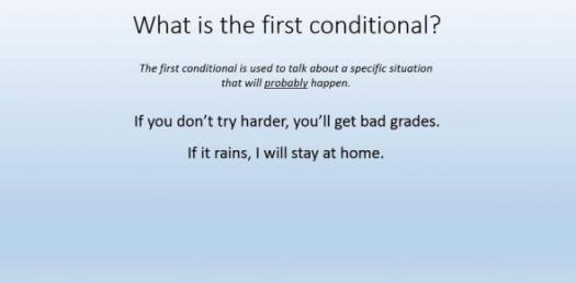conditional sentence Quizzes & Trivia