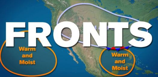 A Quiz About Fronts And Air Masses