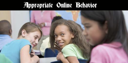 Appropriate Online Behavior - Exam 8.2