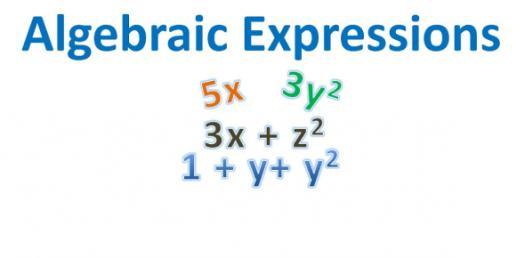Test On Algebraic Expression! Quiz