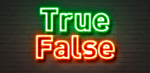 True Or False Quiz: Interesting And Unknown Trivia Facts Knowledge Test