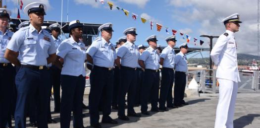 US Coast Guard: Change Of Watch Quiz!