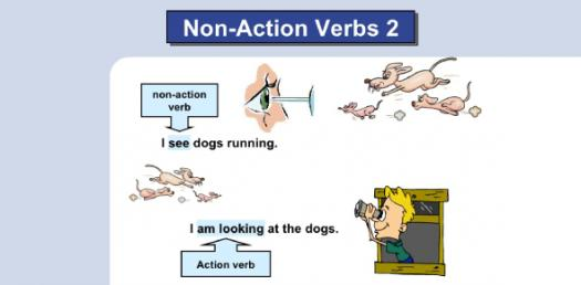 Action And Non-action Verbs: Test Your Grammar! Trivia Questions Quiz