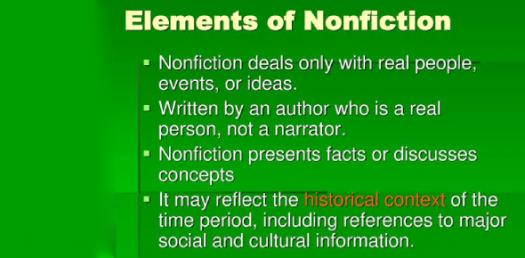 Test Your Knowledge About Elements Of Nonfiction! Trivia Questions Quiz