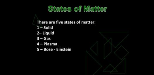 Quiz On Matter And Five States Of Matter! Trivia Questions