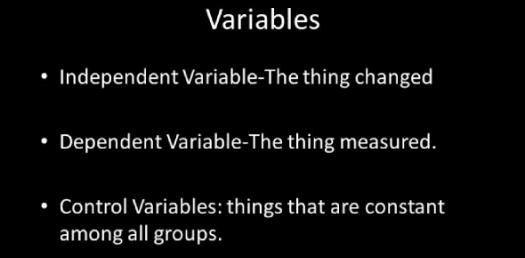 Trivia Quiz On Independent Variables, Dependent Variables And Constants