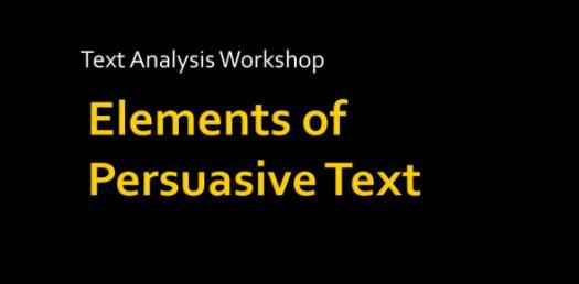 Elements Of Persuasive Writing: Vocabulary Trivia Questions Quiz