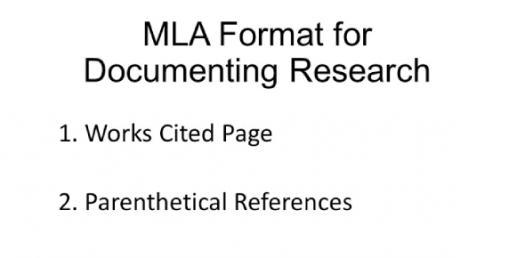 MLA Format and Citations! Trivia Questions Quiz