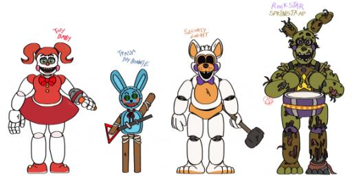 Which FNAF Character Are You Really? Quiz