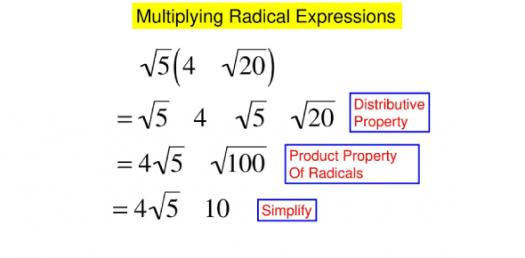 Multiplying Radical Expressions! Math Trivia Questions Quiz