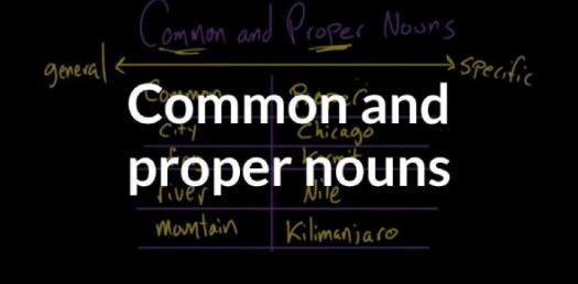 Quiz: Can You Identify The Common And Proper Noun?