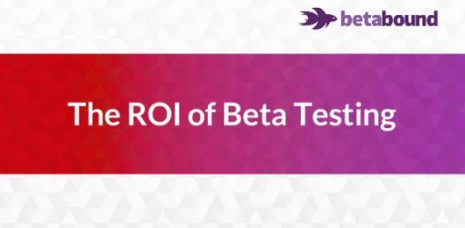 The ROI Of Beta Testing! Trivia Questions Quiz