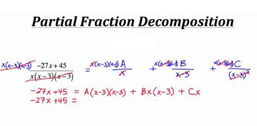 Partial Fraction Decomposition! Math Trivia Quiz