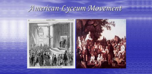 What Do You Know About Lyceum Movement? Trivia Quiz