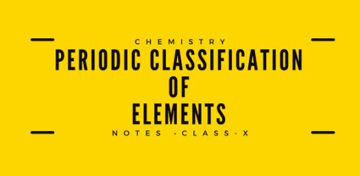 Chemistry Quiz: Periodic Classification Of Elements