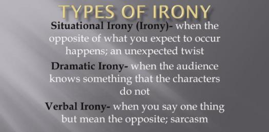 Fun Quiz: The Different Types Of Irony