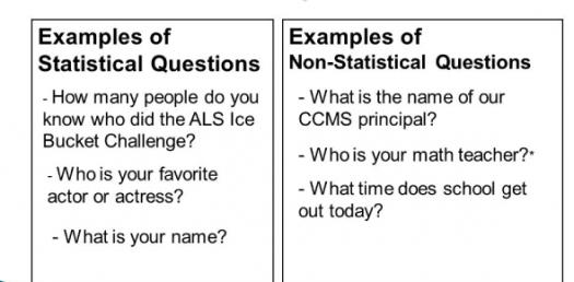 Quiz: Statistical And Non-statistical Questions