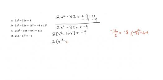 The Ultimate Algebra EOC Practice Test For High School Students