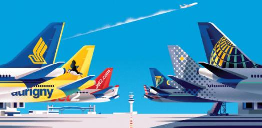 Can You Identify These Airlines Logos? Image Trivia Quiz