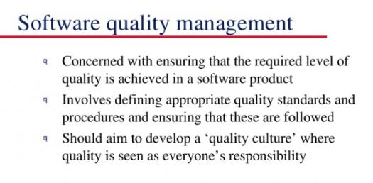 Quality Management And Software Product Quality! Trivia Quiz