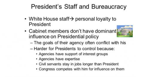 The Presidency And Bureaucracy! Trivia Questions Quiz